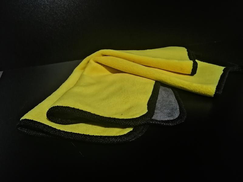 Microfiber wash car yellow - $1.790 - Briplast